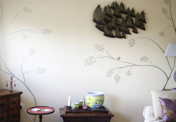 The Creative Decorator の アクセサリー&デコレーション another detail of the Gold Pagoda Sitting Room