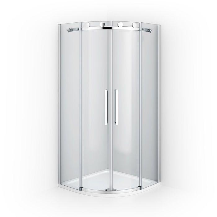 900x900mm 8mm Designer Frameless Easyclean Quadrant Shower Enclosure Slim Stone Tray Homes In 2019 Quadrant Shower Quadrant Shower Enclosures Shower Enclosure
