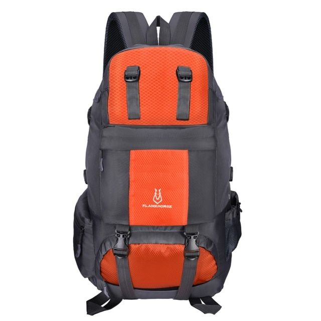 36495878e485 50L Large Camping Hiking Climbing Bag Backpack Waterproof Mountaineering  Backpacks Molle Sport Outdoor Climbing Bag Rucksack Review