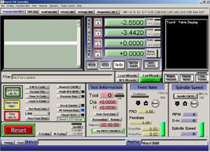 CNC control software for building your own CNC machine.