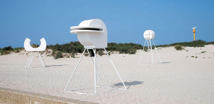 HEADS at beach Hoek van Holland | Rob Sweere