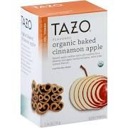Tazo Herbal Tea, Organic Baked Cinnamon Apple - 20 bags, 1.76 oz box