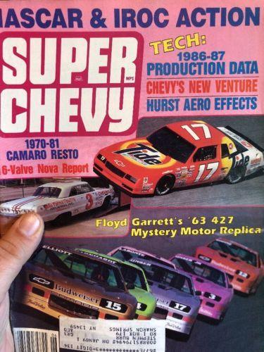 super chevy magazine June 1988 Nascar & Iroc Action