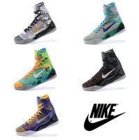 kobe high tops - Nike KOBE KB9 Elite Flyknit High Top Men Women Basketball Shoes Kobe Bryant Sneakers