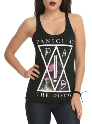Panic! At The Disco Galaxy Girls Tank Top I have this one and I love it!