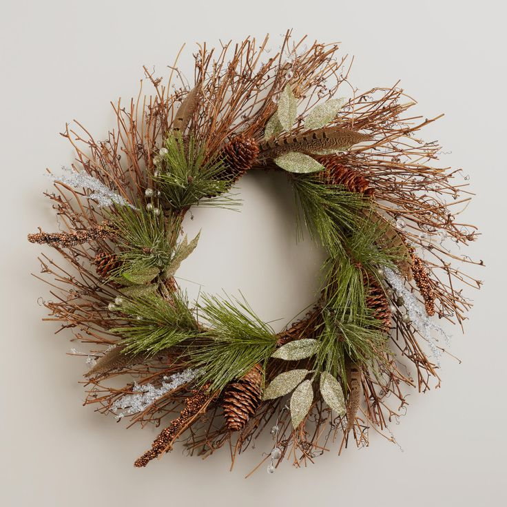 Snowy Haven Wreath for your own snowy haven.