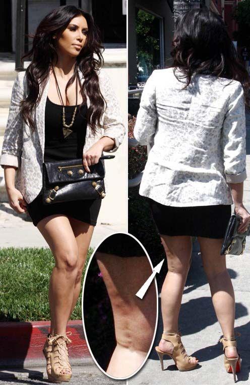 kim kardashian cellulite celebrity cellulite