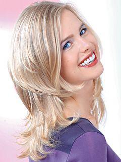 frisuren schulterlang gestuft on Schnelle Styling Hits   Beauty Trends Frisuren   Bildderfrau De