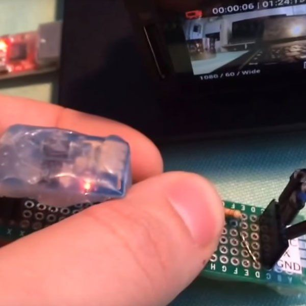 Make A Cheap GoPro Remote From An ESP8266 | Hackaday