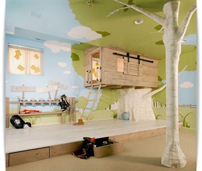 한번쯤은 살아보고 싶은 꿈의 인테리어 30 1. 수영장이 딸린 야외 바베큐 공간  2. 지하에 설치된 주차장  3. 천장이 투명 유리로 된 서재  4. 창문이 열리면 바로 수영장과 연결되는 거실  5. 천장에 설치된 해먹  6. 거실과 연결된 미니 바  7. 집안 벽에 설치된 진공 청소기  8. 아이방에 설치된 '트리 하우스'  9. 정원의 연못과 해먹  10. 아이들을 위한 계단 미끄럼틀  11. 벽난로가 있는 실내 영화관  12. 손님들을 위한..