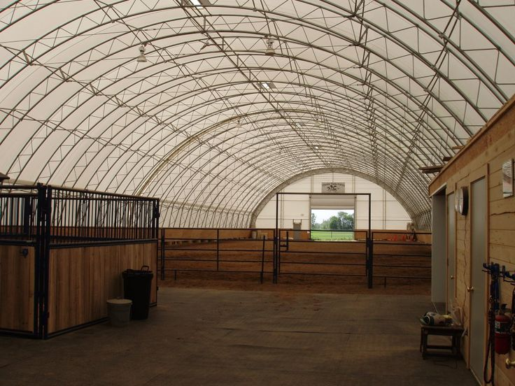 horse barn designs with arena - Google Search