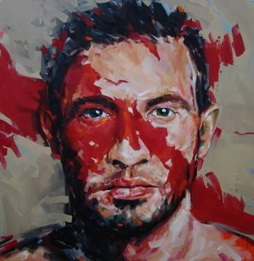 "Saatchi Art Artist Corne Eksteen; Painting, ""The Divided"" #art"