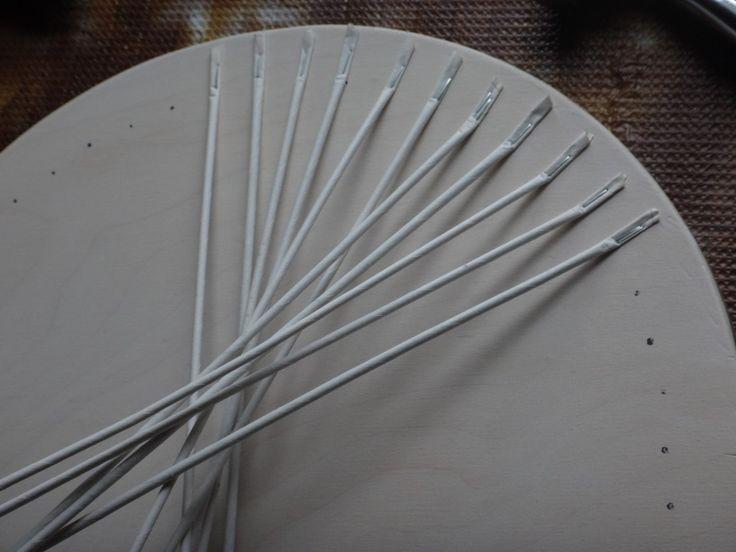 Montar el aro de la canasta y momentos de trabajo tapas de fabricación - 10 FOTOGRAFÍAS   VK