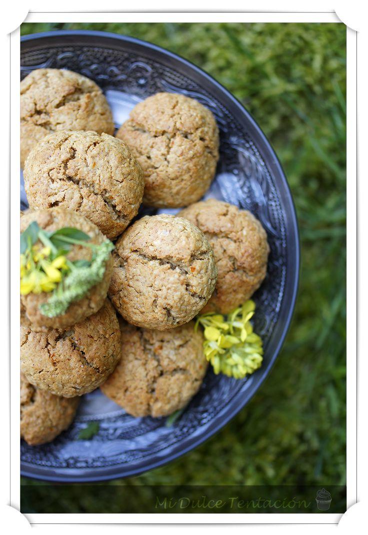 Mi dulce tentación: Galletas de Avena, Miel y Cítricos