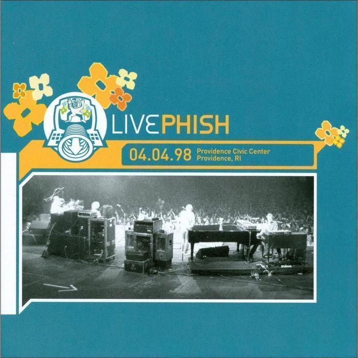 Phish - Providence Civic Center, Providence, RI 4/4/98 (CD)