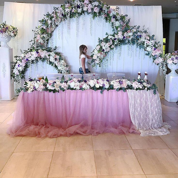 Цветочное гнёздышко для Алексея и Виктории с любовью от #dolchevitadecor #wedding #sevastopol #свадьбавкрыму #крымскаясвадьба2017 #свадьбавсевастополе #свадьбавялте #декор #флористика #свадьба #семья #любовь