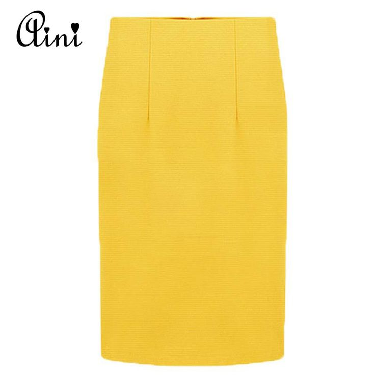 Newest Summer Skirt Women Slim Fit Skirts Candy Color Sexy Pencil Skirt Europen Style Middle-Skirt Casual Skirt