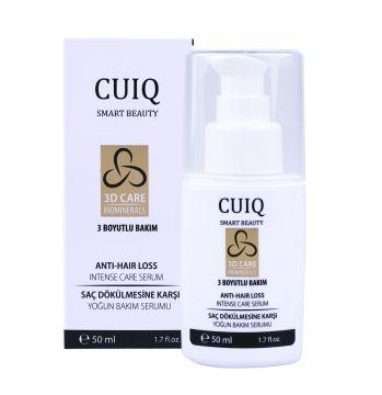 CUIQ Saç Dökülmesine Karşı Yoğun Bakım Serumu, 50ml Yoğun aktif içeriğiyle saç dökülmesini önlemeye yardımcı olur. ·Saç derisine bakım yaparak saçın sağlıklı büyümesi için uygun ortam hazırlar. ·Saç derisini ferahlatır. ·Saçı besler. #cuiqbeauty #saçserumu #sacserumu #dökülensaçlar #saçbakımı #saçdökülmesinekarşı