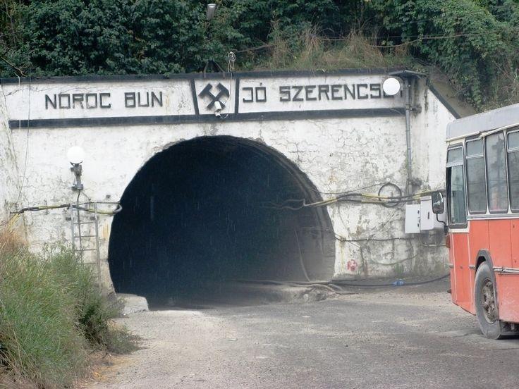 Parajd, Sóbánya bejárata