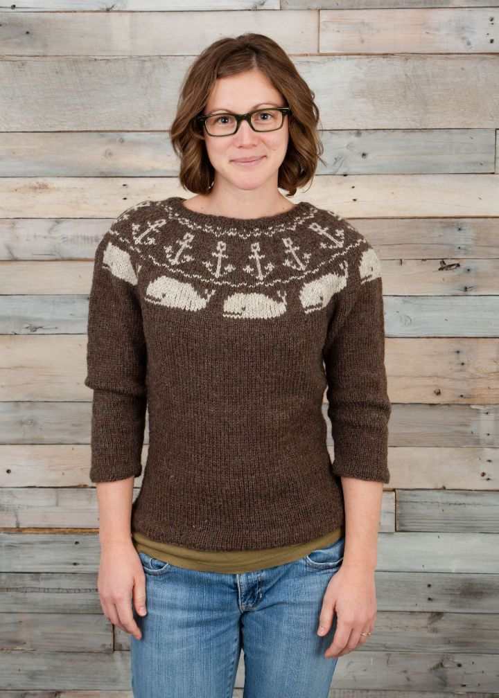 362 best FairIsle Yoke Sweaters images on Pinterest | Loom knit ...