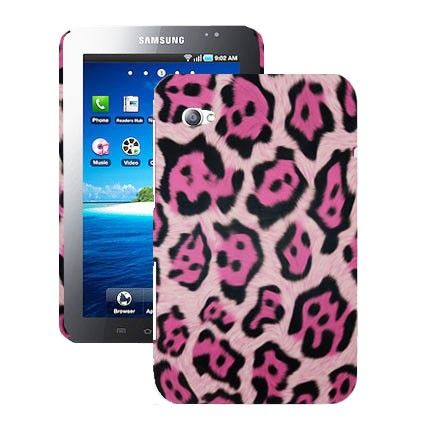 Leopard (Pink) Samsung Galaxy Tab P1000 Cover