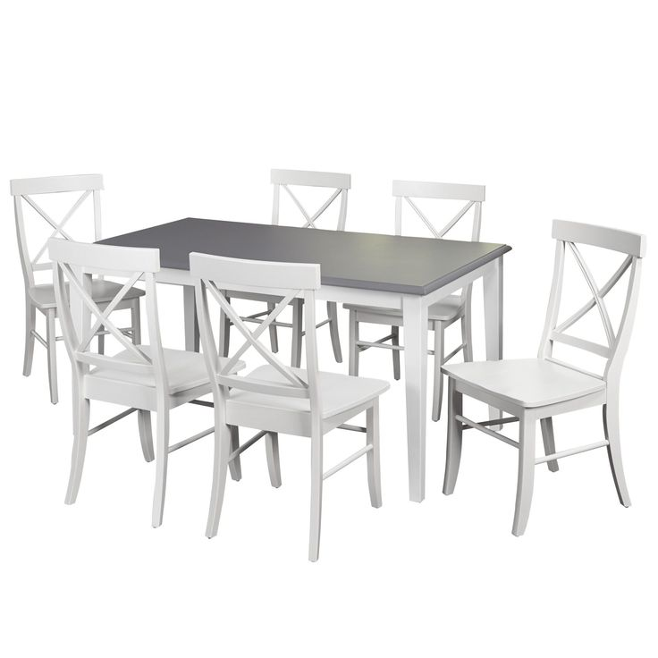 Lehigh Acres 7 Piece Dining Set