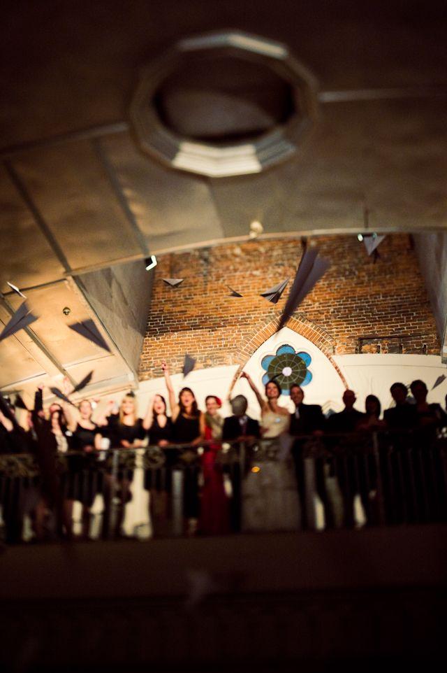 great dramatic lighting at Berkeley Church wedding