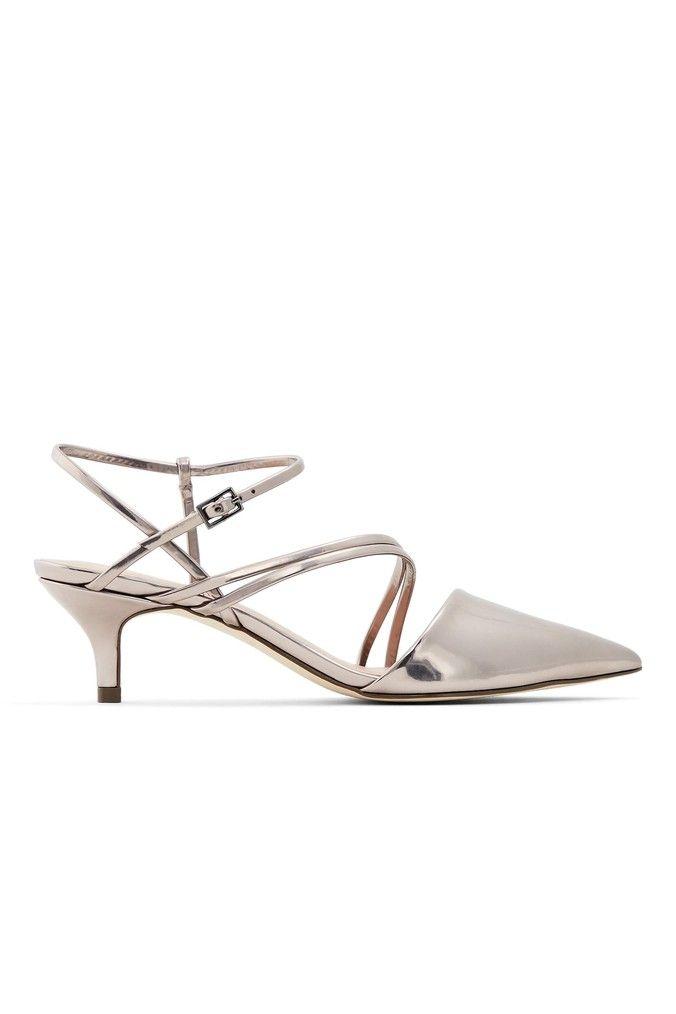 Womens Call It Spring Kitten Heel Court Shoes Silver Kitten Heels Silver Court Shoes Court Shoes