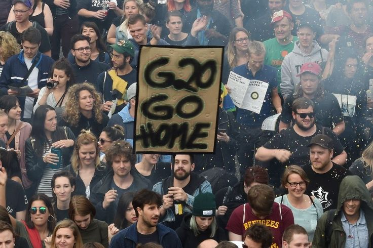 """G20 host #Hamburg braces for """"Welcome to #Hell"""" #protest..."""
