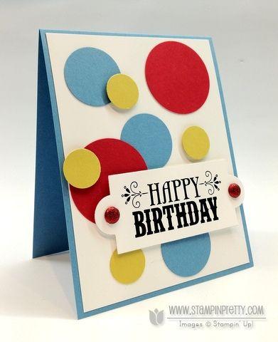 Stampin up demonstrator blog order online circle punch birthday card ideas masculine catalog