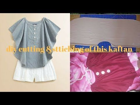 788157460 beautiful &trendy kaftan Cutting & Stitching Simple & Easy Method - Cutting  & Stitching tutorial - YouTube