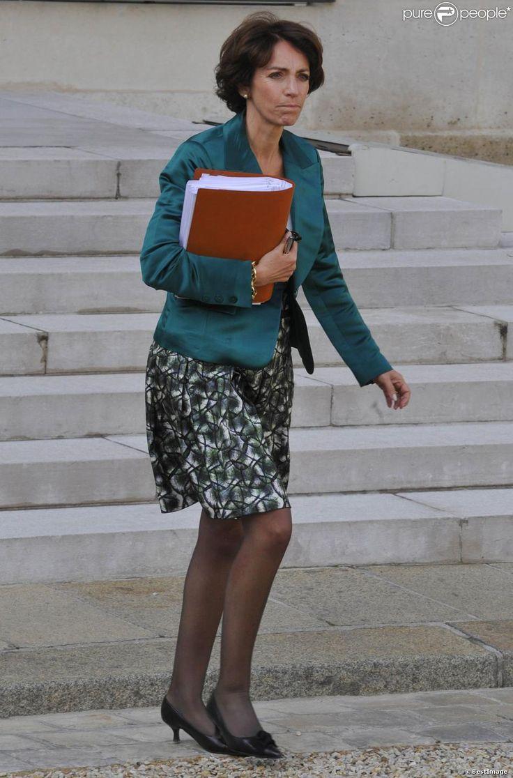 Marisol Touraine à la sortie du Conseil des ministres du 28 septembre 2012 à Paris