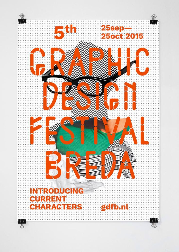 GRAPHIC DESIGN FESTIVAL BREDA by I LIKE BIRDS