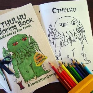 Cthulu colouring book