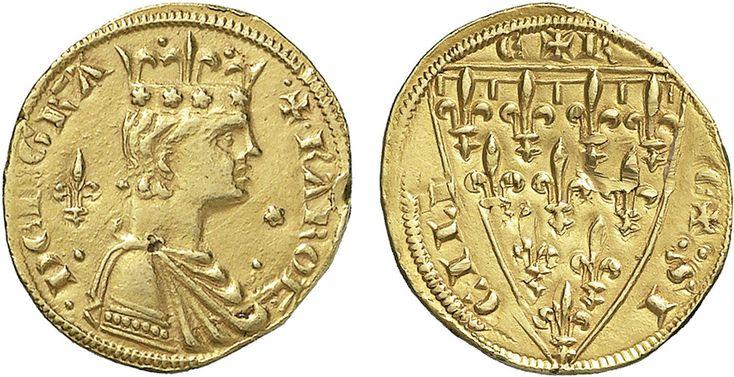 NumisBids: Nomisma Spa Auction 50, Lot 126 : MESSINA Carlo I d'Angiò (1266-1282) Reale – Spahr 9 (questo...