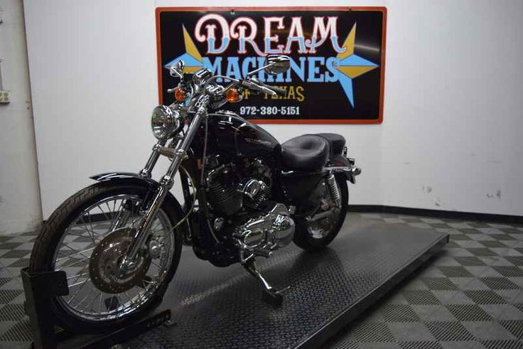 Used 2006 Harley-Davidson XL1200C - Sportster 1200 Custom Motorcycles For Sale in Texas,TX. 2006 Harley-Davidson XL1200C - Sportster 1200 Custom, YOU ARE LOOKING AT A 2006 HARLEY DAVIDSON SPORTSTER 1200 CUSTOM (XL1200C) WITH 4,881 MILES ON IT. IT IS VIVID BLACK IN COLOR AND POWERED BY A 1200CC CARBURETED ENGINE AND 5 SPEED TRANSMISSION. THE BIKE COMES WITH 1 KEY, 1 REMOTE, AND FACTORY SECURITY SYSTEM. THERE ARE SOME EXTRAS ON THE BIKE WHICH INCLUDE SCREAMIN' EAGLE SLIP-ON MUFFLERS (299.95)…