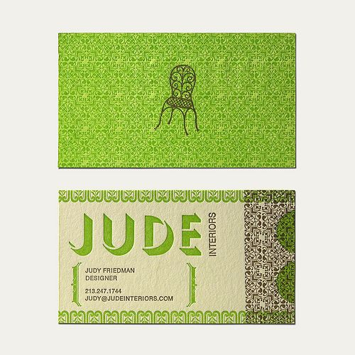 Jude Business Card by Cranky Pressman, via Flickr