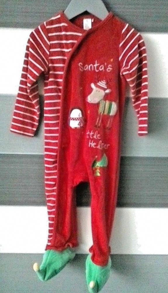 7c03624dd Baby Christmas All in One Babygrow