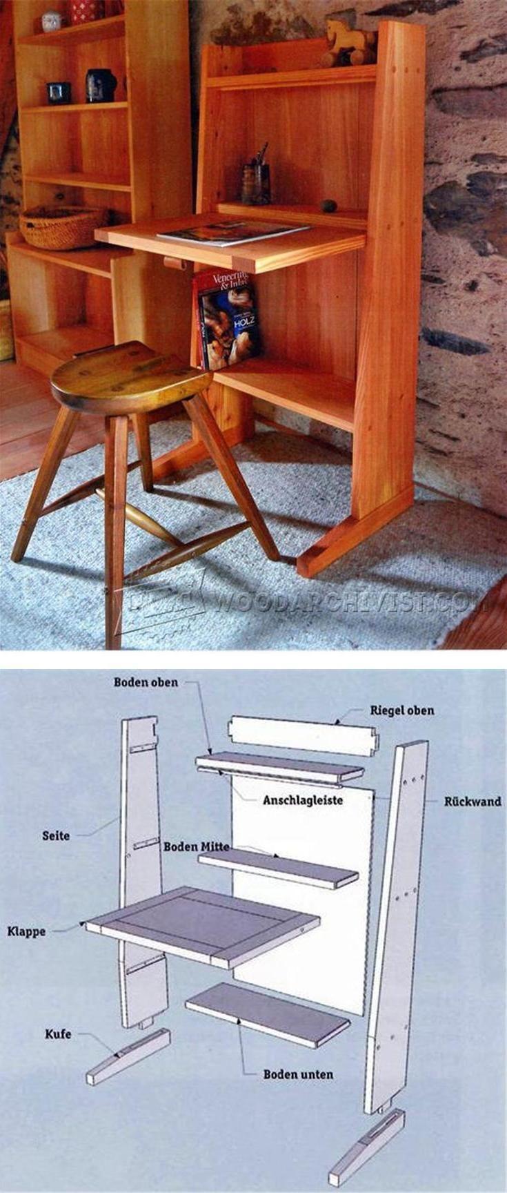 Activity Desk Plans - Children's Furniture Plans and Projects | WoodArchivist.com