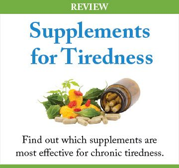 tiredness supplements