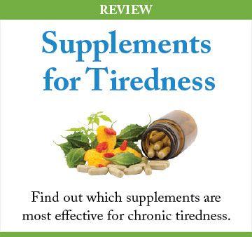 tiredness supplements