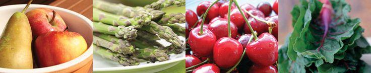 Growing seasons for local, organic produce