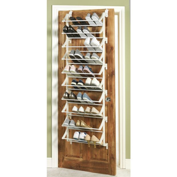 Buy HOME Hanging 10 Shelf Shoe Storage Rack - White at Argos.co.uk - Your Online Shop for Shoe storage, Storage, Home and garden.