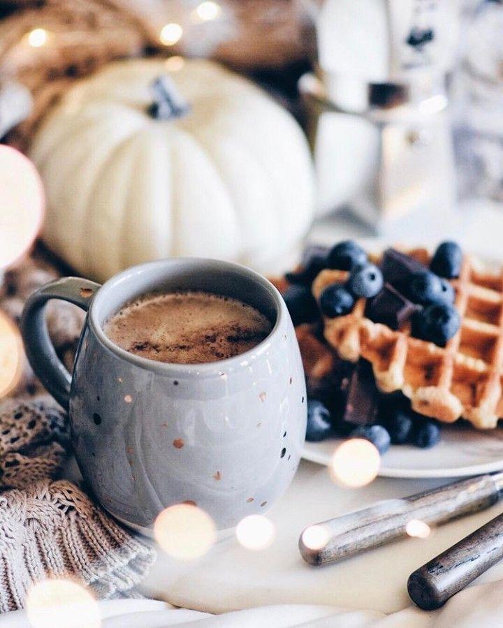 Красивые, кофе со сладостями картинки