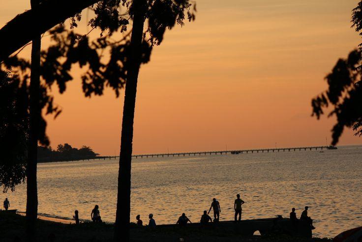Sunset in East Timor