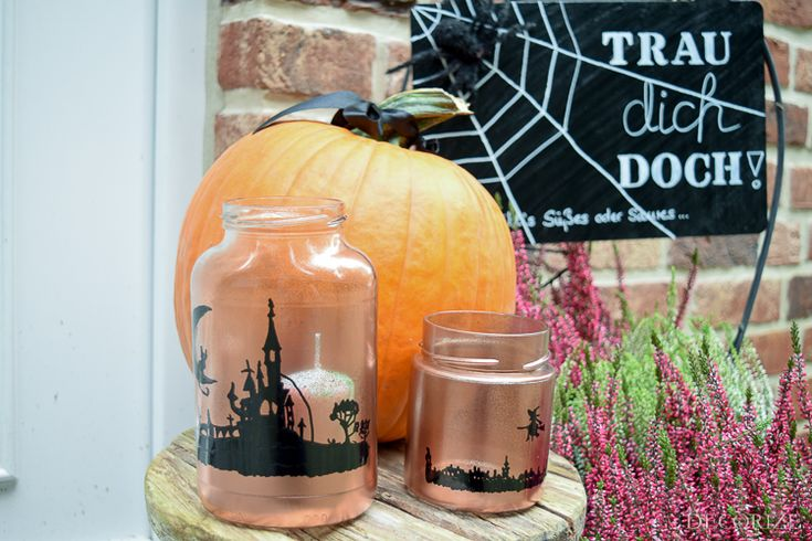 DIY+Halloween+Windlichter