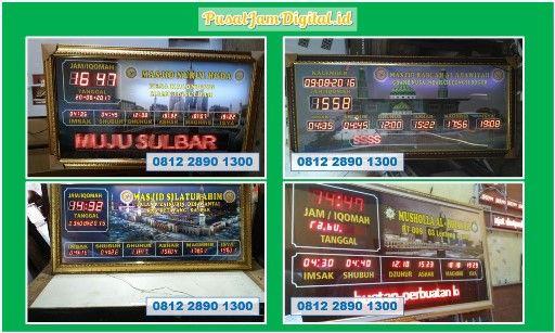 Adzan Sholat Di Depok Wa 0813 2530 0071 Perakitan Jam Digital