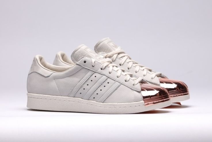 Adidas Superstar Rose Gold Tip