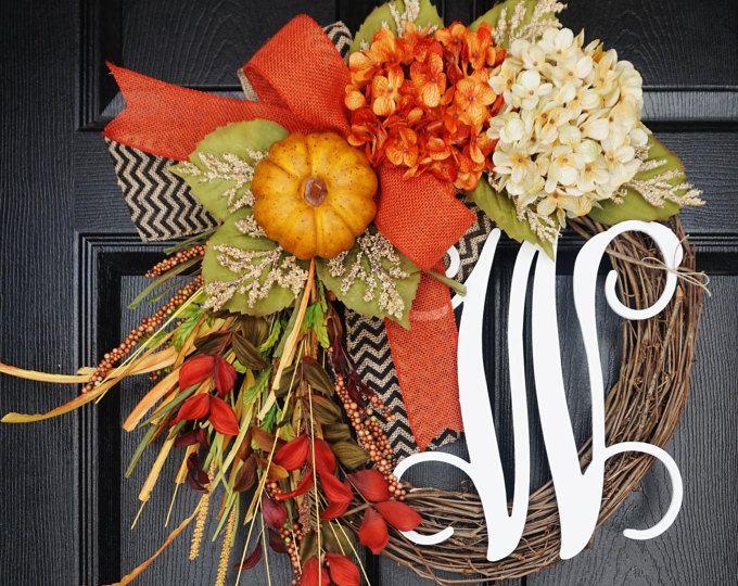 BEST SELLER! White Hydrangea Wreath. Burlap Wreath. Year Round Wreath. Spring Wreath. Summer Wreath. Monogram Wreath. Door Wreath