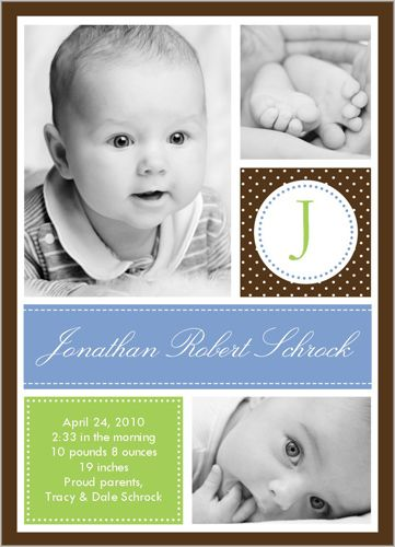 Baby Chic Blue 5x7 Stationery Card by Stacy Claire Boyd | Shutterfly
